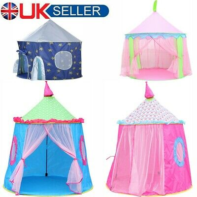 Outdoor & Indoor Princess Fairy Castle Tent Playhouse Garden Game Toy Play House • 15.49£