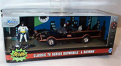 Batman 1966 Batmobile And Figure 1-32 Scale New In Box Jada 31703 • 17.95£