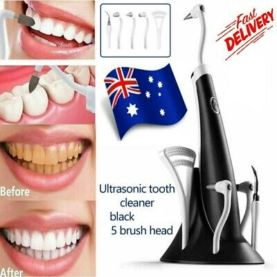 AU25.59 • Buy 5 In1 Electric Teeth Cleaner Dental Calculus Remover Scaler Tooth Cleaning Tools