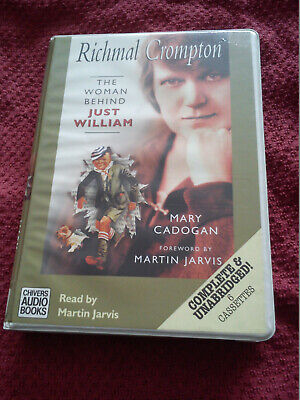 Mary Cadogan 6 Tape Audio Book RICHMAL CROMPTON THE WOMAN BEHIND JUST WILLIAM • 6.99£
