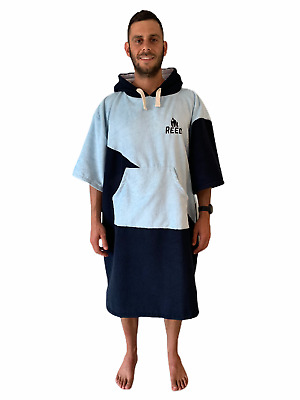 Blue Beach Changing Robe Poncho Adult Extra-Large Large Medium Small • 24.95£
