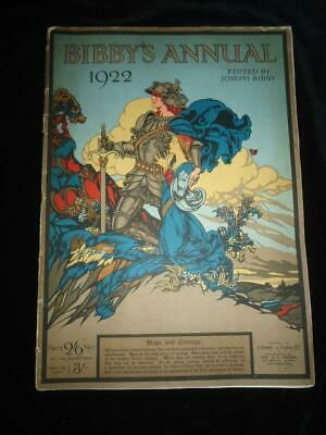 Bibby's Annual 1922 Beautifully Illustrated Good Condition • 14.99£