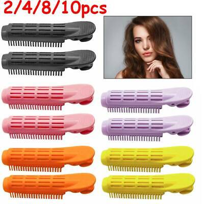 2-10pcs Volumizing Hair Root Clip Curler Roller Wave Fluffy Clip Styling Tool • 5.99£