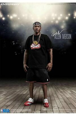 $658.64 • Buy 1/6 Goods Enter Bay Enterbay Allen Iverson Movable Figure