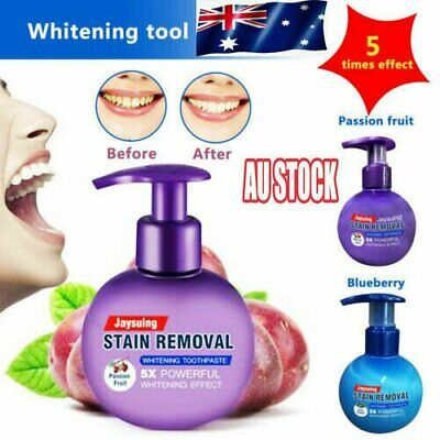 AU13.69 • Buy Whitening Toothpaste Intensive Stain Removal Fight Bleeding Gums Soda Teeth LHG