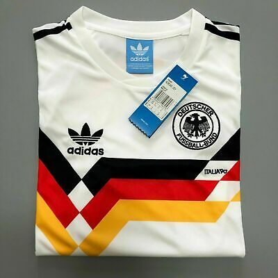 Retro Jersey West Germany 1990 Shirt Memorabilia Football Shirts SELLER • 22£