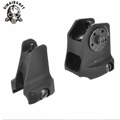 £12.59 • Buy Tactical Rail Mount Fixed Front Iron Sight Weaver Picatinny Rail Sight Airsoft