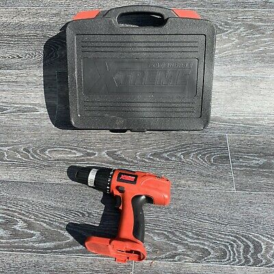Powerbase Xtreme 14.4V Cordless Drill Driver CDT03144 Bare Unit Only & Case • 7.95£