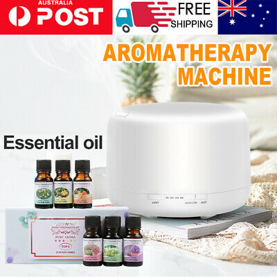 AU20.99 • Buy Essential Air Mist Oil Aroma Diffuser Ultrasonic Humidifier Aromatherapy
