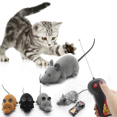 AU13.59 • Buy Pet Cat Puppy Toy Wireless Remote Control Electronic Rat Mouse Mice Toys RC
