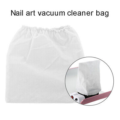 1PC White Non-woven Fabric Replacement Bags Nail Dust Collector Bag Cleaner • 2.72£