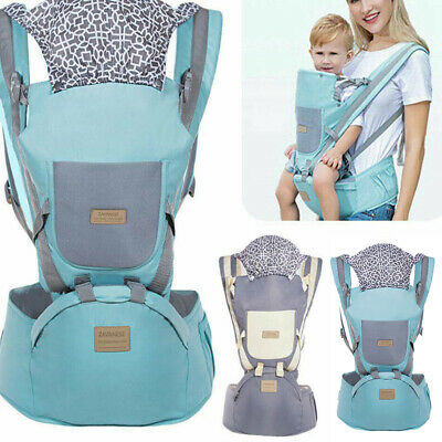 Baby Carrier Hip Seat Stool Adjustable Wrap Ergonomic Infant Sling Backpack Gift • 14.99£