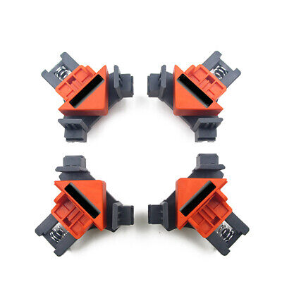 £8.98 • Buy 4Pcs Frame Corner Clamps Woodworking 90 Degrees Right Angle Clamp Clip Set