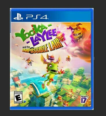 AU49.99 • Buy YOOKA- LAYLEE- And The Impossible Liar  - Playstation 4  - (BRAND NEW, Unsealed)
