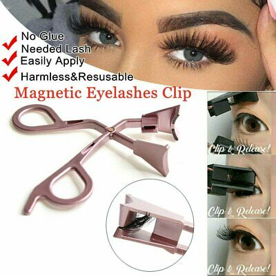 AU24.66 • Buy Magnetic Eyelashes Clip Quickly Apply Magnetic Lash Applicator No Glue Needed 6J