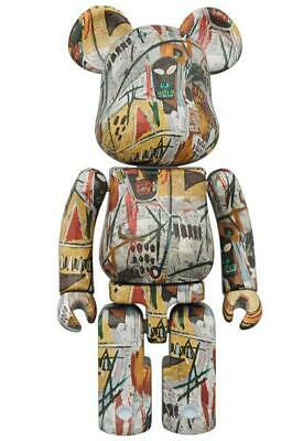 $482.38 • Buy Medicom Toy Bearbrick JEAN-MICHEL BASQUIAT  Super Alloy Figure Free Shipping