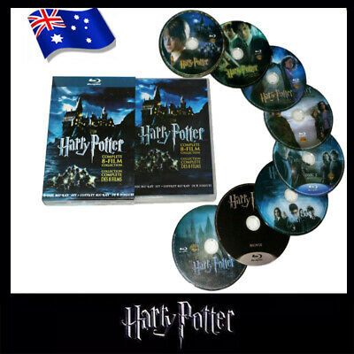 AU25.99 • Buy Harry Potter Complete 1-8 Movie DVD Collection Films Box Set As Xmas Gifts AU