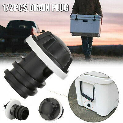 1/2x Replacement Cooler Drain Plugs Compatible For RTIC YETI Cooler Accessories • 4.99£