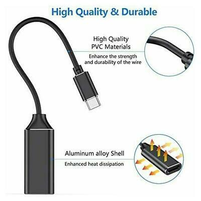 $ CDN5.91 • Buy Tablets USB-C Type C To HDMI Cable TV AV HDTV Fit Macbook Adapter Phone Tool