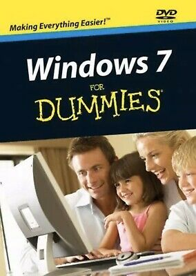 Windows 7 For Dummies By Andy Rathbone (2009, DVD) Sealed Wiley • 7.83£