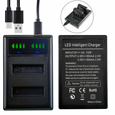$ CDN9.45 • Buy Battery Charger For GoPro Hero4 Silver, Hero 4 Black / Music Edition AHDBT-401