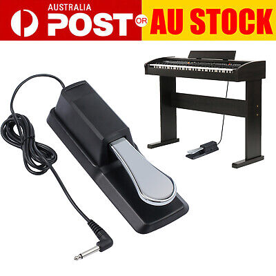 AU22.95 • Buy Sustain Piano Pedal Foot Switch Damper For Keyboard Yamaha Casio Roland Korg NEW