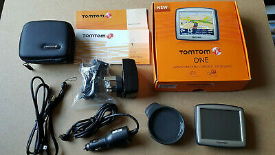 TomTom One 310 - Boxed Complete With UK Ire And West Mediterranean Island Maps • 18.99£