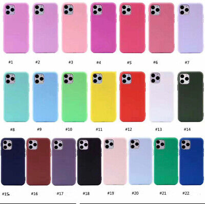 AU9.99 • Buy IPhone Case For 11/Pro/Pro Max/SE XS XR 7/8 Plus Shockproof Soft Liquid Silicone