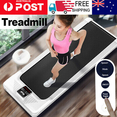 AU299 • Buy Electric Walking Pad Treadmill Home Office Exercise Machine Fitness LCD Display