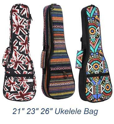 AU20.29 • Buy 21/23/26 Inches Ukulele Padded Bag Case For Musical Instruments Guitar Parts