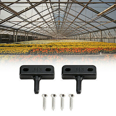 2 Pegs For Greenhouse Window Replacement Kits Window Stay Kit Flat Peg Type C9S8 • 2.71£