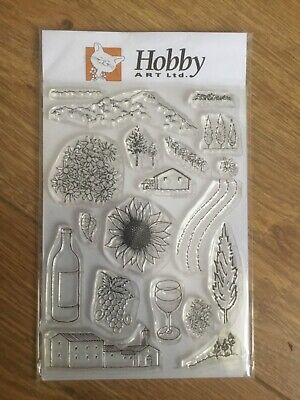 New Hobby Art Ltd ,Tuscany Clear Stamp Set X19 .Stamps  • 2.99£