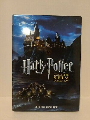 $ CDN19.02 • Buy Harry Potter: Complete 8-Film Collection (DVD, 2011, 8-Disc Set)