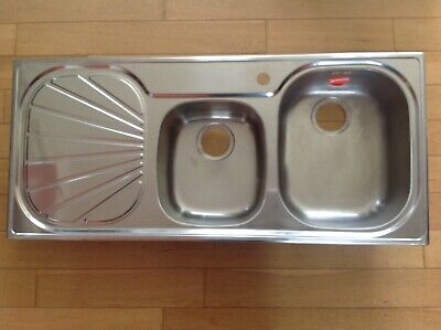 Franke Erica Eux 621 Stainless Steel 1.5 Bowl Sink - Brand New • 150£