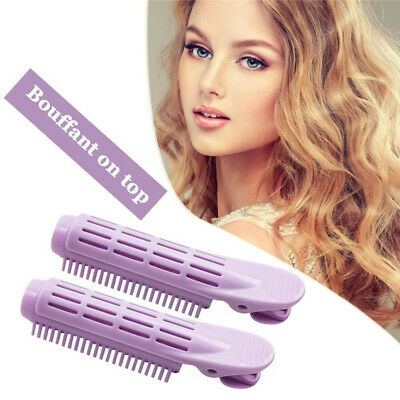 5Pcs Instant Hair Volumizing Clip Hair Root Curler Roller Wave Fluffy Clip Tools • 5.99£