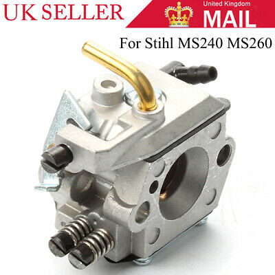 Carburetor Carb Replacement For STIHL 024 026 MS240 MS260 Chainsaw Aftermarket • 10.48£