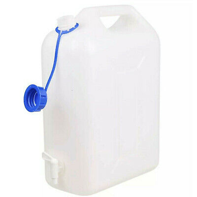 10 Litre Water Carrier Jerry Can Container Food Grade Plastic With Tap • 9.65£