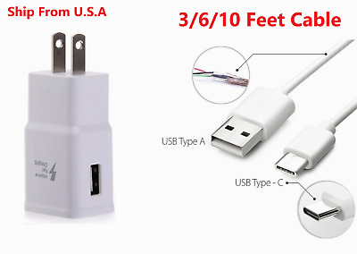 $ CDN10.65 • Buy  FAST WALL CHARGER + USB-C Type C For Samsung Galaxy A71 A51 S9 S10 Note 10 20