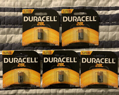 $ CDN35.55 • Buy Duracell PX28LBPK 6 V Lithium Battery (5 PACKS)(FREE S&H!!!)