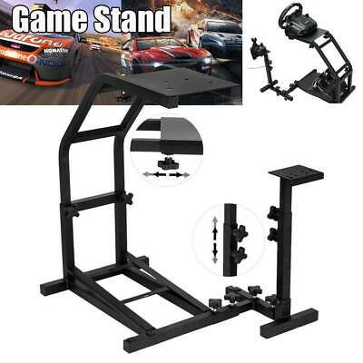 Racing Simulator Steering Wheel Stand Driving Gaming For G29 G920 T300RS T80 • 37.69£