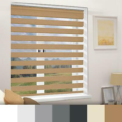 Day And Night Roller Blinds Zebra 5 Sizes 6 Colours 160 Drop • 28.99£