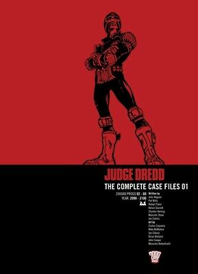 Judge Dredd: The Complete Case Files 1 (2000AD Progs 02 - 60) Graphic Novel • 14.99£