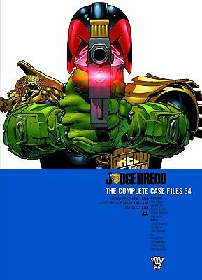 Judge Dredd: The Complete Case Files 34 (2000AD Progs 1250 - 1275) Graphic Novel • 19.99£
