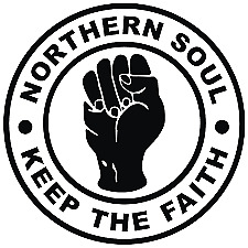 Northern Soul I Keep The Faith Car Scooter Sticker Vinyl Decal Laptop Motown • 2.25£