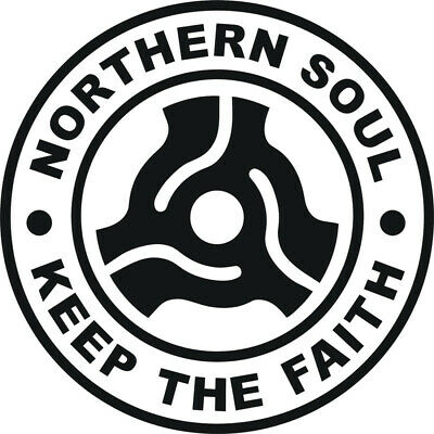 Northern Soul Ii Keep The Faith Car Scooter Sticker Vinyl Decal Laptop Motown • 2.25£