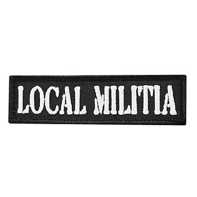 $7.95 • Buy Local Militia Embroidered Morale Revolution America 2A USA Hook&loop Cap Patch