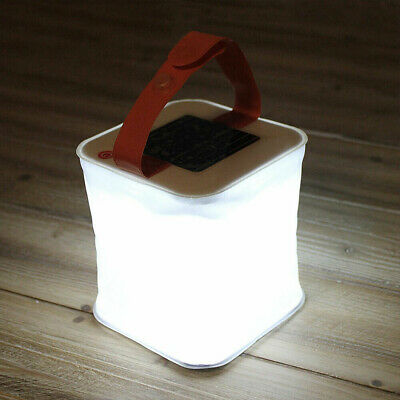 AU9.99 • Buy Folding Camping Light Lamp LED Solar Power Inflatable Lantern Lamp Tent  Outdoor