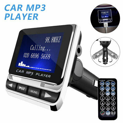 Bluetooth Wireless Handsfree Car FM Transmitter MP3 Music Player USB Charger Kit • 15.49£
