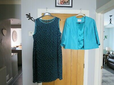 Jacques Vert Dress And Jacket Suit Size 22 Worn Once  • 45£