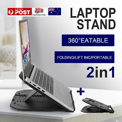AU15.99 • Buy Laptop Stand Portable IPad Holder Folding Adjustable Notebook Cooling Ergonomic
